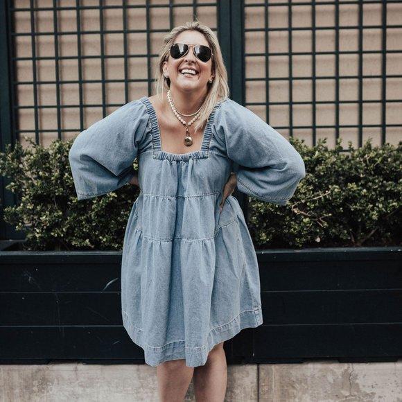 [Free People] Lou Jean Babydoll Dress